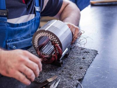 The common causes of bearing failures in electric motors