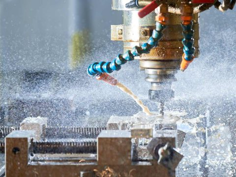 Facing on a lathe, turning on a lathe, drilling on a lathe, tapping on a lathe.