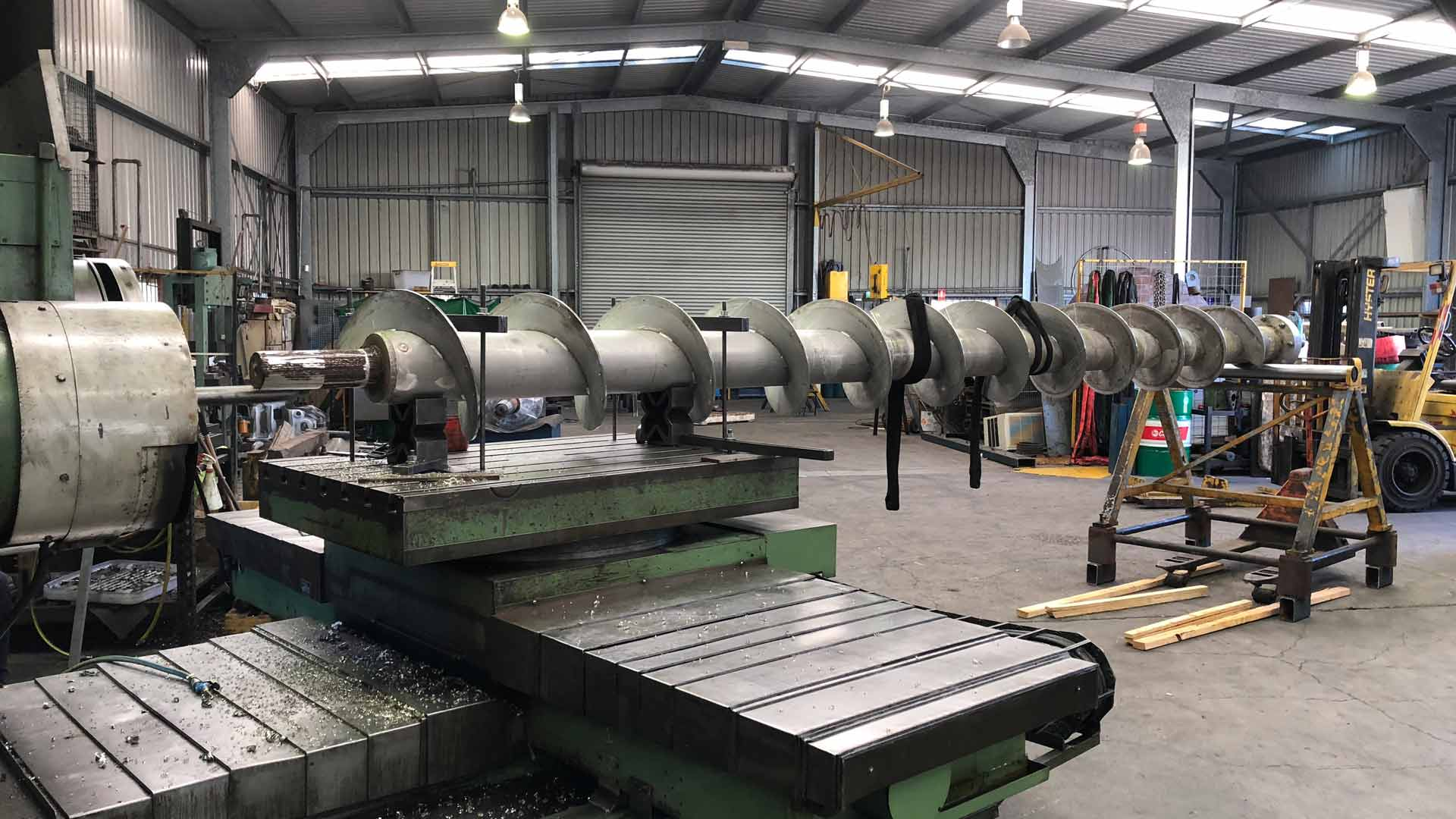 Heavy metal machining Brisbane