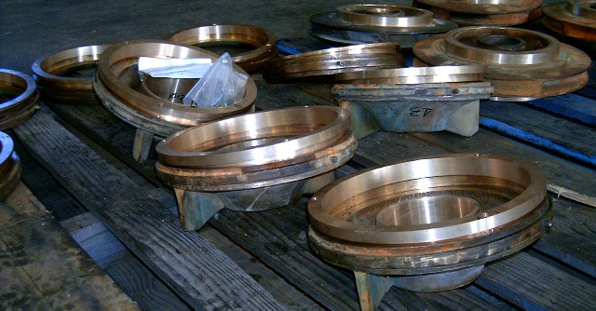 Prime Engineering Large Pump Repair Split Case Pump