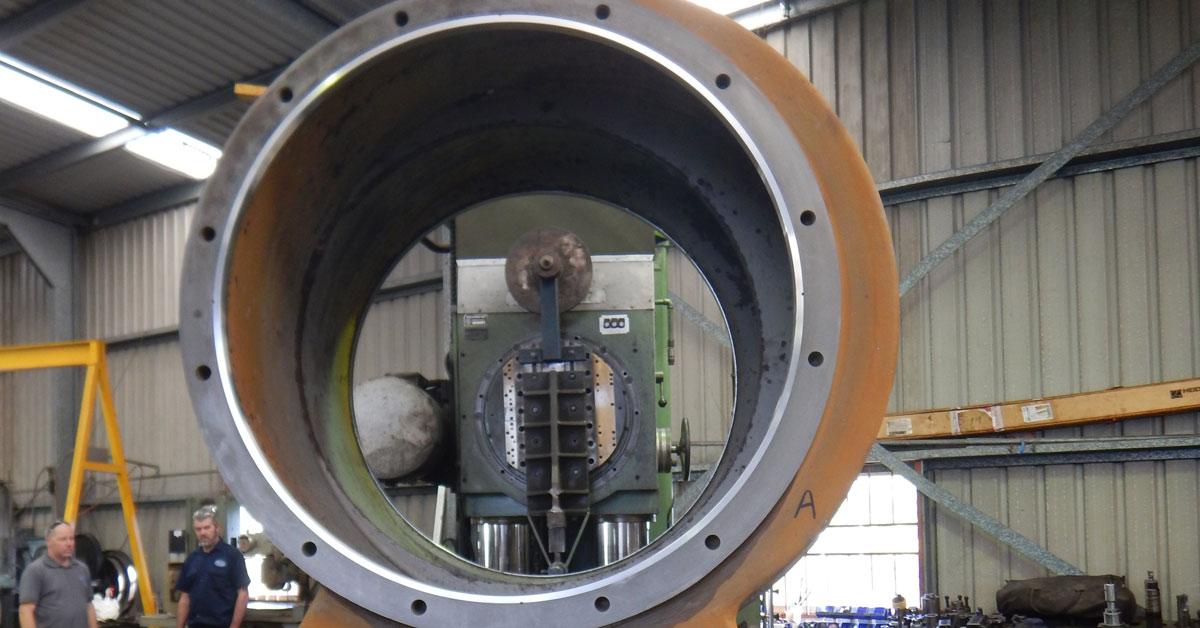 Prime Engineering Large Pump Repair on a Vacuum Pump