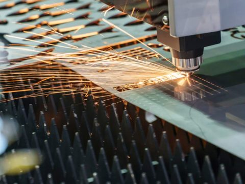 laser cutting machine from cool engineering video