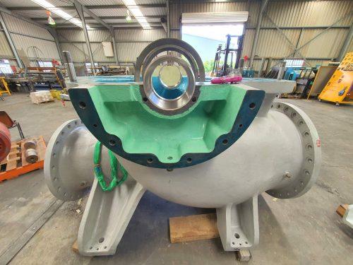 Refurbishing an Ebara Centrifugal Split Case Pump
